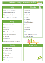 cleaning checklist laundry guide bathroom cleaning checklist for teens glue sticks