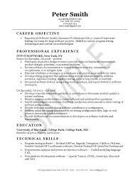 quality control resume