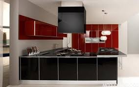 ... Red Home Decor Redlack Color Decorations Style And White Holiday  Aluminium Glossy Composite Kitchen Islands Nickel Chrome Black ...