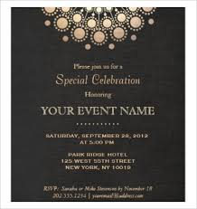 Formal Invitation Template Fre