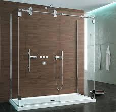 sliding glass shower doors. Fleurco KTW372 Three Sided Symmetry Kinetik Hardware Systems Sliding Glass Shower Door Doors