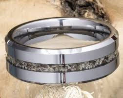 8mm cremation ring tungsten carbide visible pet ashes men s cremation ring cremation jewelry rb048h