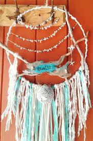 Beach Dream Catchers Beach House Dream Catcher Ocean Sea Shell Gift Surf Seahorse 35