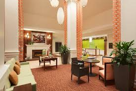 hilton garden inn boston logan airport lobby 1062264