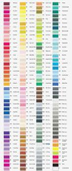 Copic Chart 2019 Chartpak Color Chart Copic Marker Color