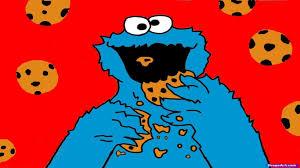 cookie monster eating cookies wallpaper. Exellent Cookies Cookies Monster Eating  For Cookie Wallpaper R