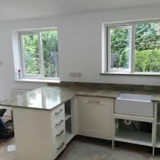 Granite Kitchen Worktop Gold Granite Rock And Co Granite Ltd
