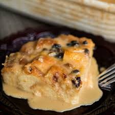 clic bread pudding with vanilla caramel sauce is a dessert not for the faint of heart