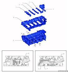 toyota nr series engines 1 camshaft bearing cap 2 camshaft housing 3 cylinder head c water jacket 2 stage d intake port