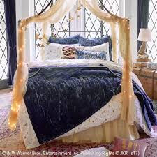 harry potter magical velvet quilt sham