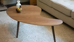 custom standing desk kidney shaped mid. Exellent Shaped Kidney Bean Table Elegant Mid Century Modern Coffee Walnut Extra Inside 0   And Custom Standing Desk Shaped