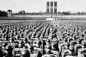 the rise of nazi did the prevalence of hunting and  parade of the ss guard the nazi elite at a party rally in nuremberg