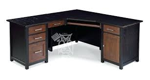 brown corner desk oak wood corner desk return shown in ebony brown oak finish choose small brown corner desk