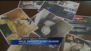 Maggots On Kitchen Floor Filthy Home Leads To Abuse Charges Deputies Say