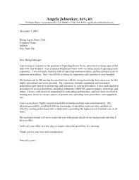 9 Operating Room Nurse Cover Letter Resume Samples