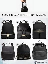 Small Black Designer Backpack 6 Small Black Leather Backpacks We Love 2018 Must Haves