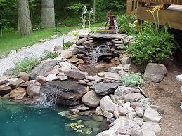 preformed garden ponds preformed pond liners with stone gravel