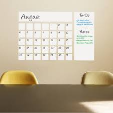 chalkboard notes dry erase wall decal writable to do arrange date and memo square schedule name