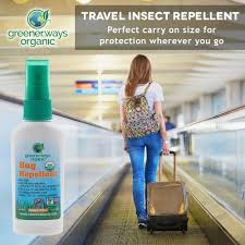 deet travel size greenerways organic mosquito insect repellent travel size premium