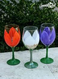 diy painted wine glass image 0 diy hand painted wine glass designs