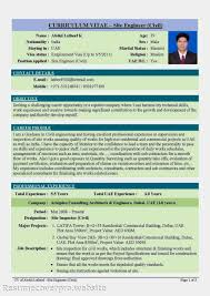Resume Format For Freshers Resume Samples