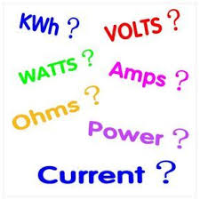 Kilowatt To Amps Chart Electricity Facts Power Calculations Volts Amps Watts