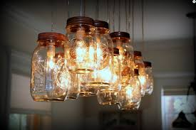 new lighting ideas. Beautiful New Mason Jar Chandelier Lighting Ideas With Rustic Cedar Beam And Cloth  Covered Wire For 2016 New Year  Indoor Decorations Cloth Cool Outdoor Mason Jar  Intended New Ideas E