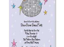 8 Childrens Disco Invitations Childrens Disco Party