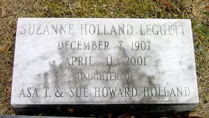Suzanne Holland Leggett (1907-2001) - Find A Grave Memorial