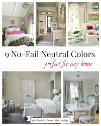 These Are All Such Great Choices For Neutral Paint Colors. Some Of My  Favorites.