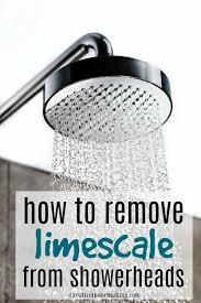 homemade limescale removers that really