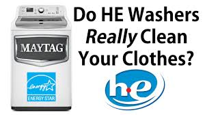 How Do High Efficiency Washers Work Do He Washers Really Clean Youtube
