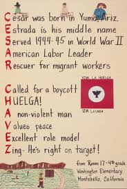 a lesson about cesar chavez and civil rights cesar chavez cesar chavez tribute by 4th grade students