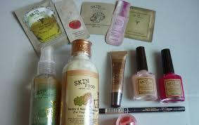 evening lavender skin food haul and review skin food eggplant eyeliner and skin food milk shake point makeup remover