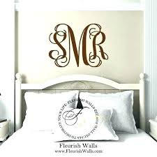 initial wall decor decals for nursery plus monogram bedroom decal gold letter k me