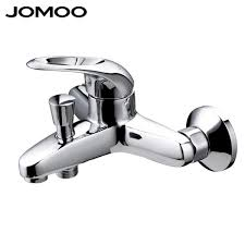 saan bibili jomoo shower faucet mixer brass chrome wall mounted bathtub bath faucet bathroom single handle hot and cold tap quality design 3577 presyo ng