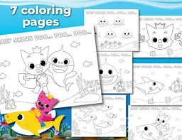 App trailer] pinkfong baby shark coloring book. Baby Shark Coloring Pages Ideas Whitesbelfast Com