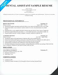 Orthodontic Assistant Resume Sample Awesome Resume Cover Letter