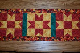 Endearing Free Table Runner Quilt Pattern Free Quilted Table ... & Perfect ... Adamdwight.com