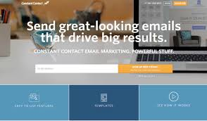 best ecommerce email marketing tools for selling online constant contact