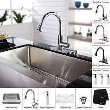 fabulous 33 inch undermount kitchen sink kraus khf200 33 kpf2220 ksd30orb stainless steel 33 inch farmhouse