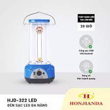 Đèn sạc tích điện Honjianda HJD-322 LED