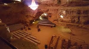 berland caverns bluegrass underground note the spectacular chandelier