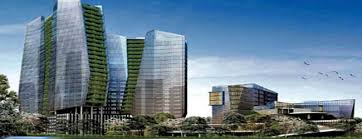 green office building. By Paulus Khierawan Green Office Building M
