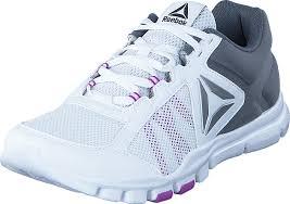 reebok yourflex trainette. reebok - yourflex trainette 9.0 mt white/alloy/vicious violet