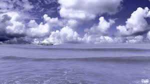 Ocean Background Hd Ocean Waves Sky With Clouds Video Background Hd 1080p Youtube