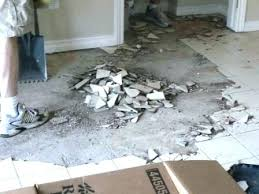 how to remove ceramic tile adhesive removing tile floor remove tile from concrete floor awesome how
