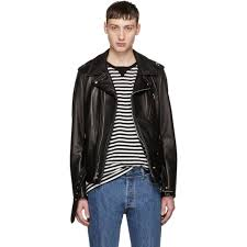 black leather perfecto jacket by schott