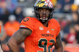 After an up-and-down college career, Byron Cowart could hear his name in  the NFL Draft - Testudo Times