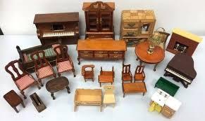 miniature dollhouse furniture woodworking. Vintage Miniature Dollhouse Furniture Woodworking E